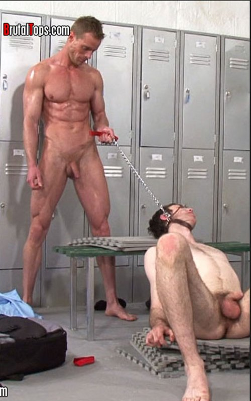 gay action in the locker room