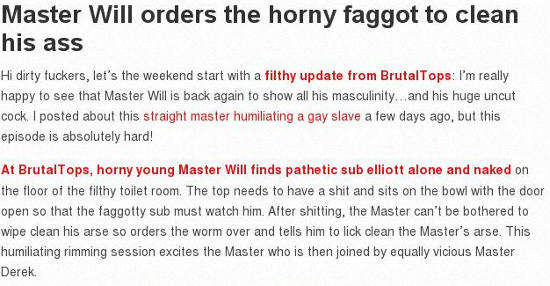master will brutal gay domination porn
